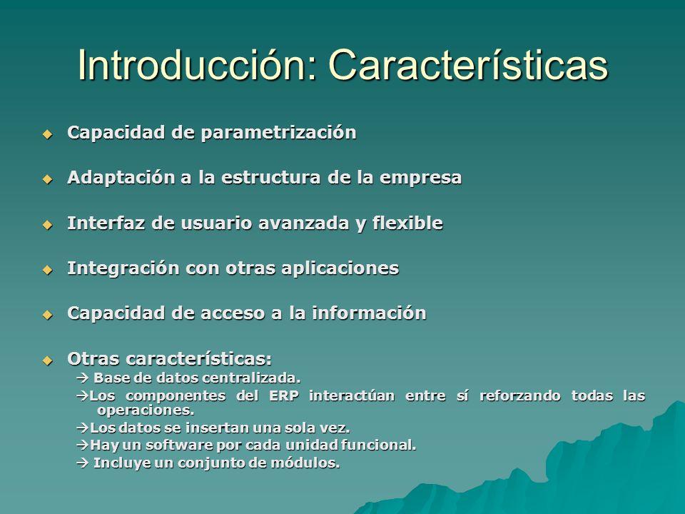 Introducción: Características