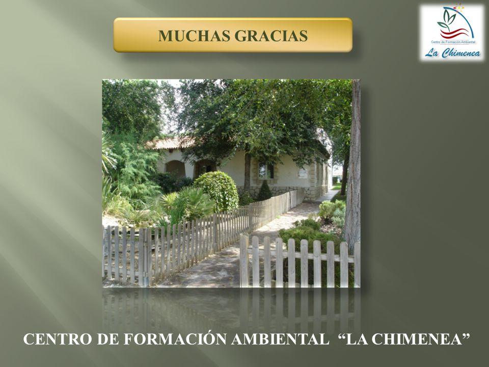 CENTRO DE FORMACIÓN AMBIENTAL LA CHIMENEA