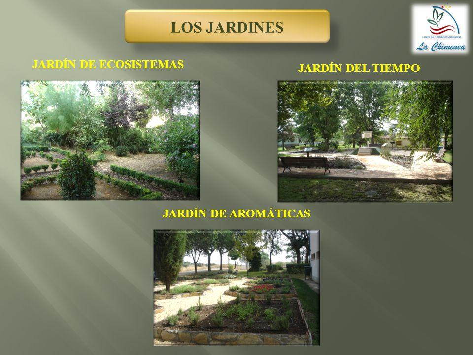 LOS JARDINES JARDÍN DE ECOSISTEMAS JARDÍN DEL TIEMPO