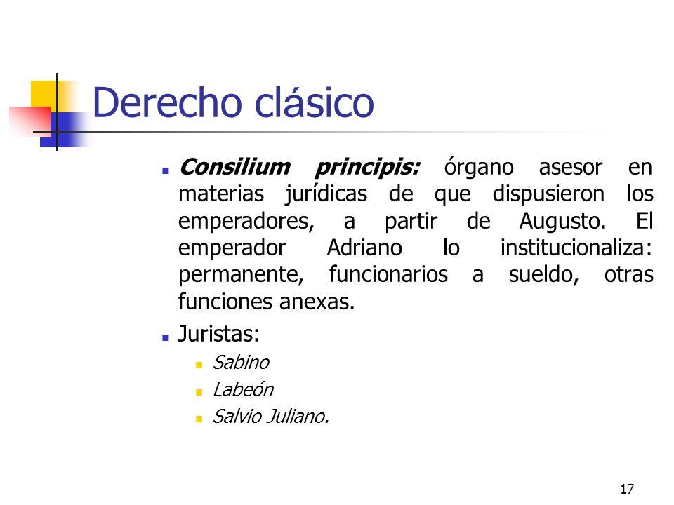 Derecho clásico
