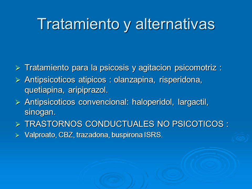 Tratamiento y alternativas