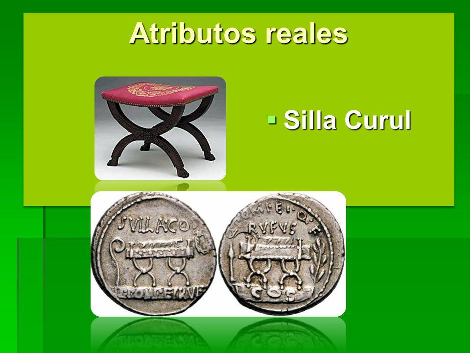 Atributos reales Silla Curul
