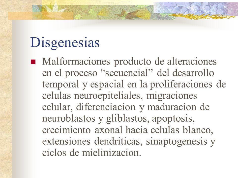 Disgenesias