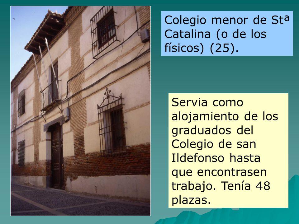 Colegio menor de Stª Catalina (o de los físicos) (25).