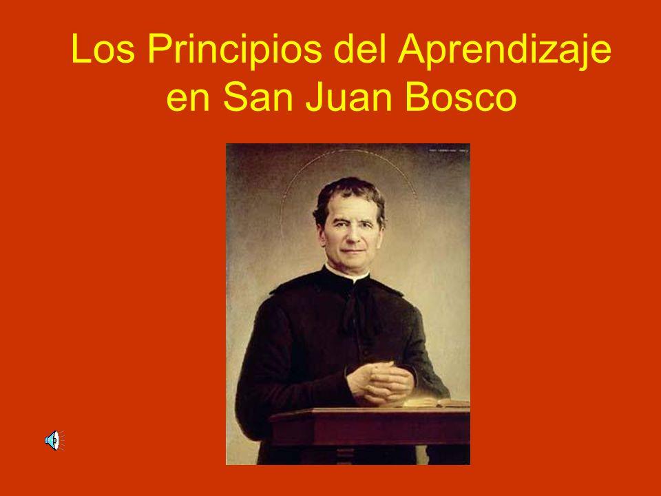 Los Principios del Aprendizaje en San Juan Bosco