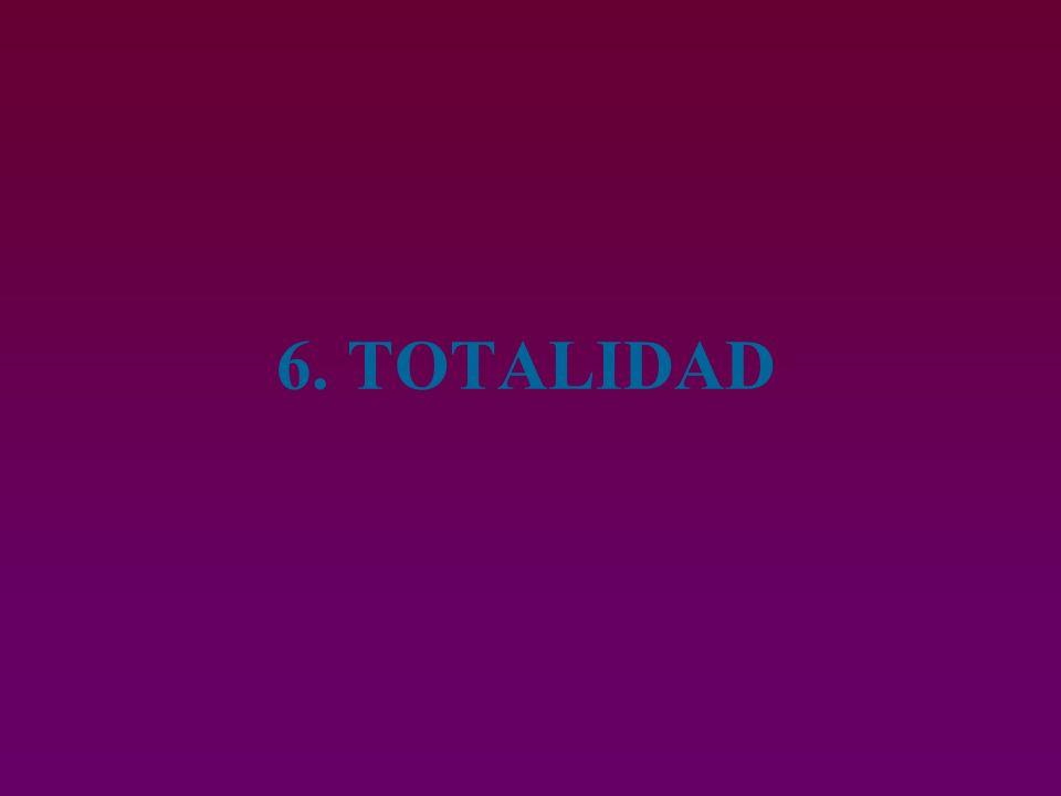 6. TOTALIDAD