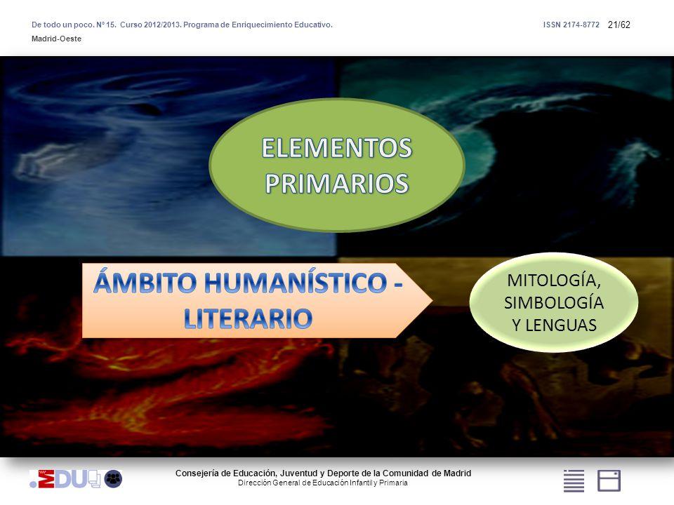ÁMBITO HUMANÍSTICO - LITERARIO