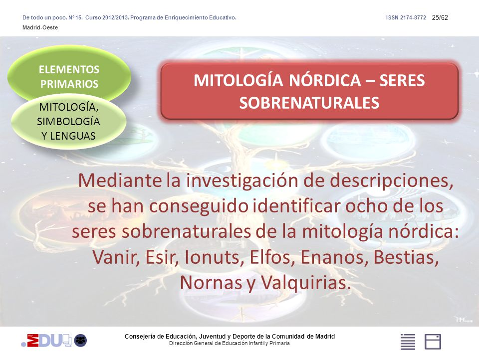 MITOLOGÍA NÓRDICA – SERES SOBRENATURALES