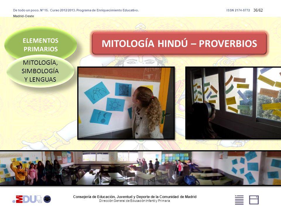MITOLOGÍA HINDÚ – PROVERBIOS