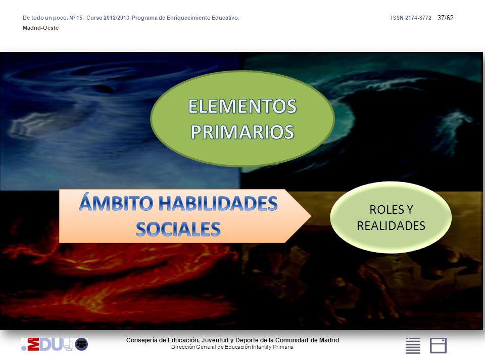 ÁMBITO HABILIDADES SOCIALES