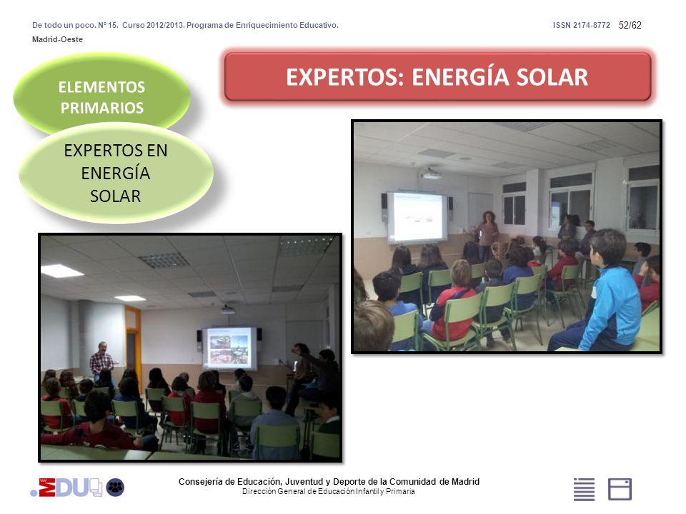 EXPERTOS: ENERGÍA SOLAR