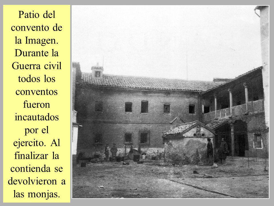 Patio del convento de la Imagen