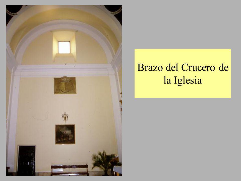 Brazo del Crucero de la Iglesia