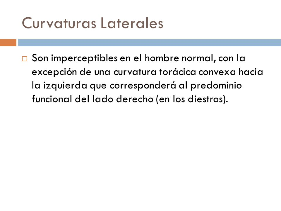 Curvaturas Laterales