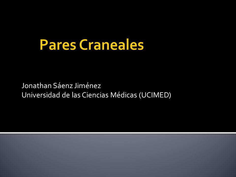 Jonathan Sáenz Jiménez Universidad de las Ciencias Médicas (UCIMED)