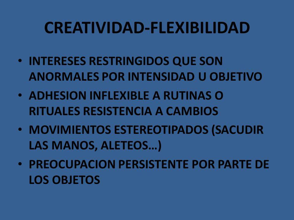 CREATIVIDAD-FLEXIBILIDAD