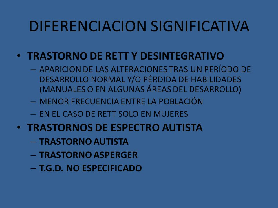 DIFERENCIACION SIGNIFICATIVA