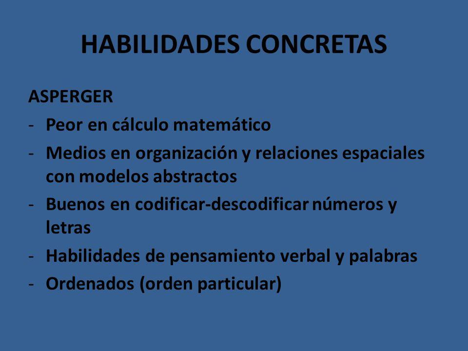 HABILIDADES CONCRETAS