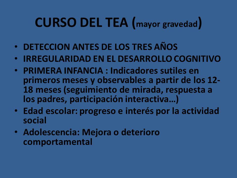 CURSO DEL TEA (mayor gravedad)