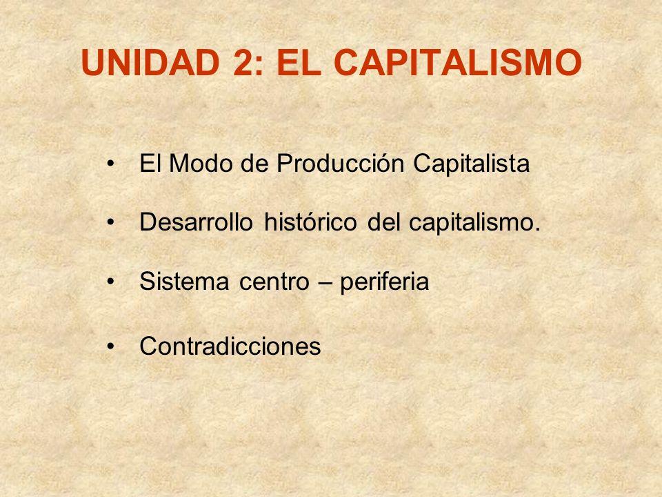 UNIDAD 2: EL CAPITALISMO