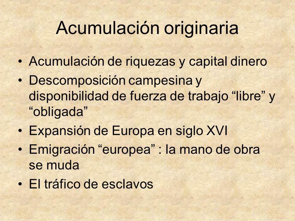Acumulación originaria
