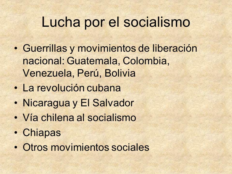Lucha por el socialismo