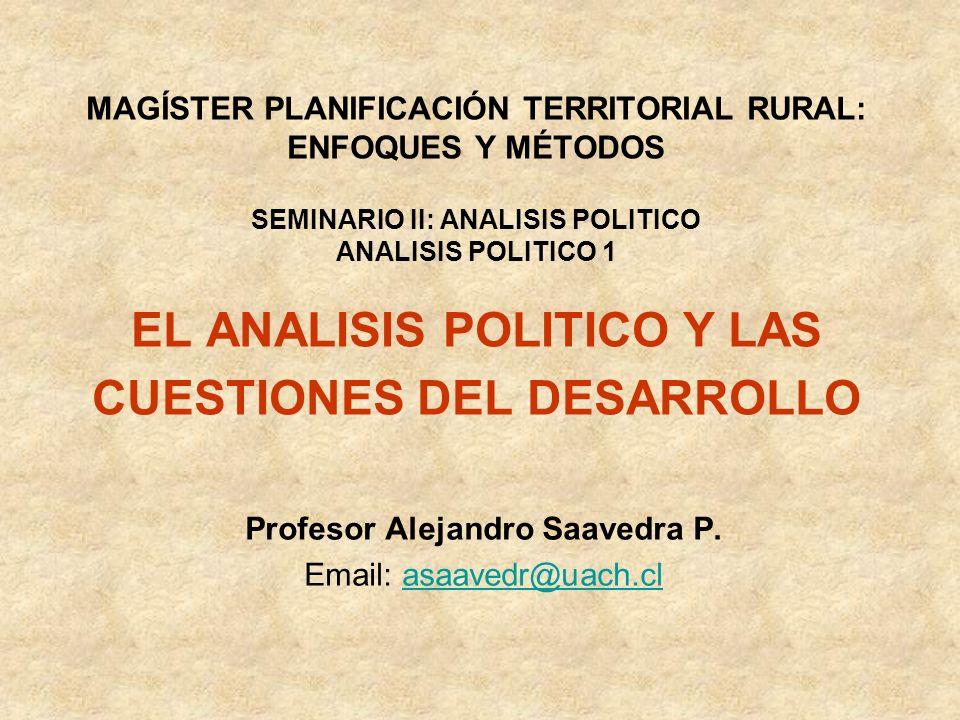 Profesor Alejandro Saavedra P.