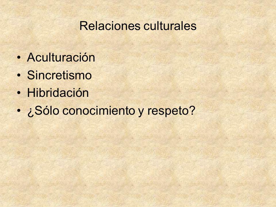 Relaciones culturales