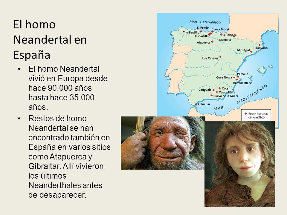 El homo Neandertal en España