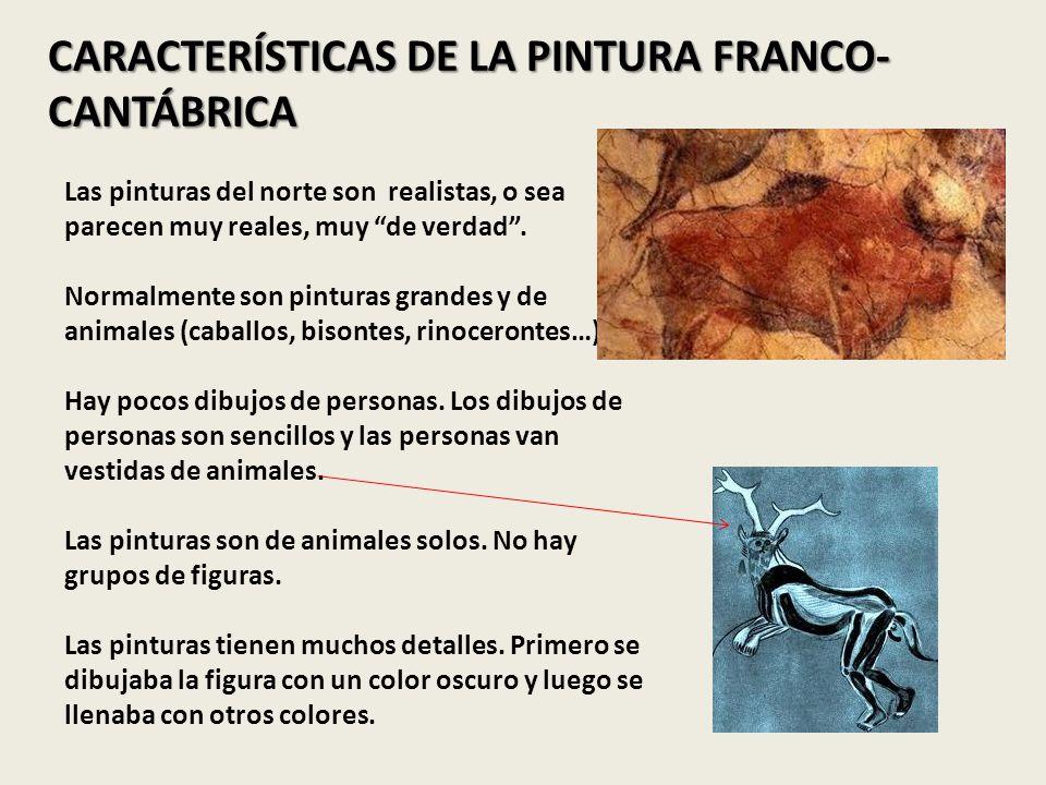 CARACTERÍSTICAS DE LA PINTURA FRANCO-CANTÁBRICA