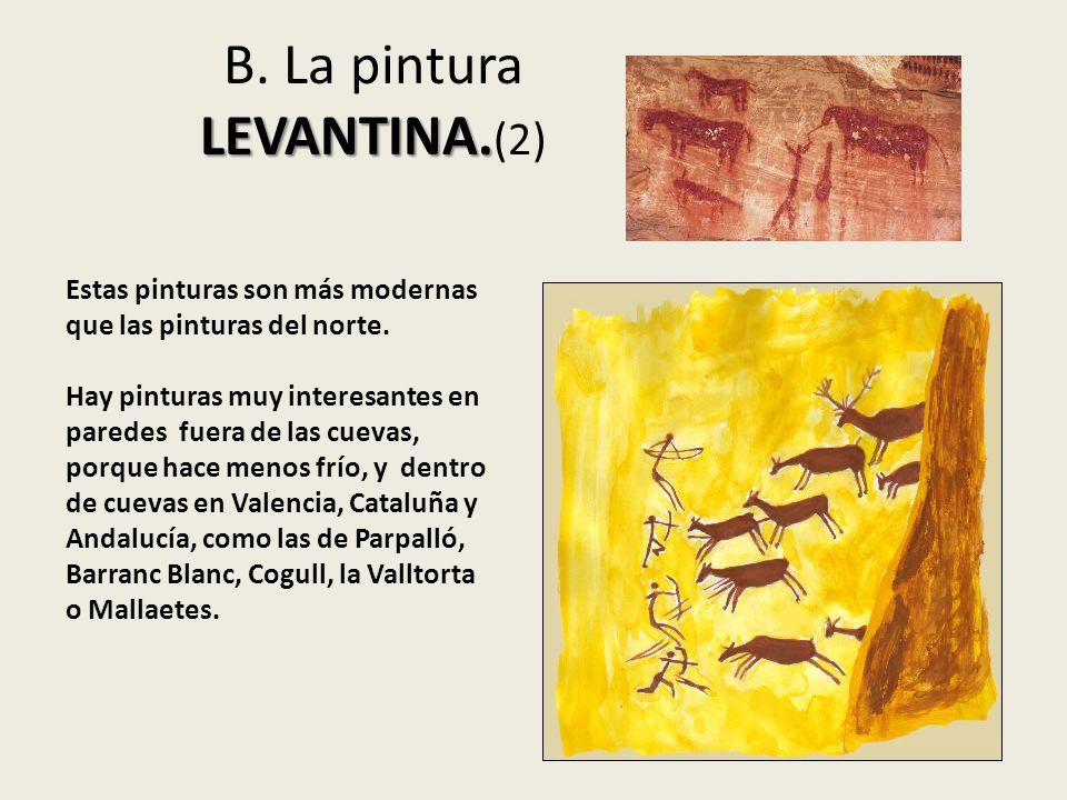 B. La pintura LEVANTINA.(2)