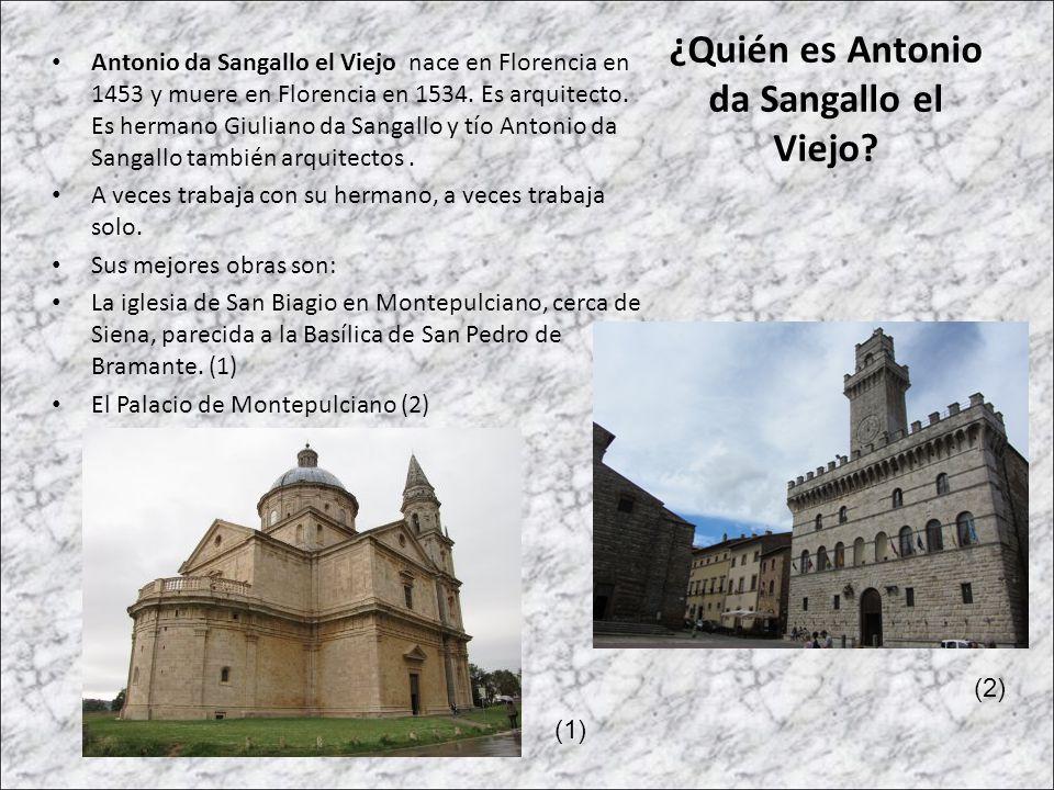 ¿Quién es Antonio da Sangallo el Viejo