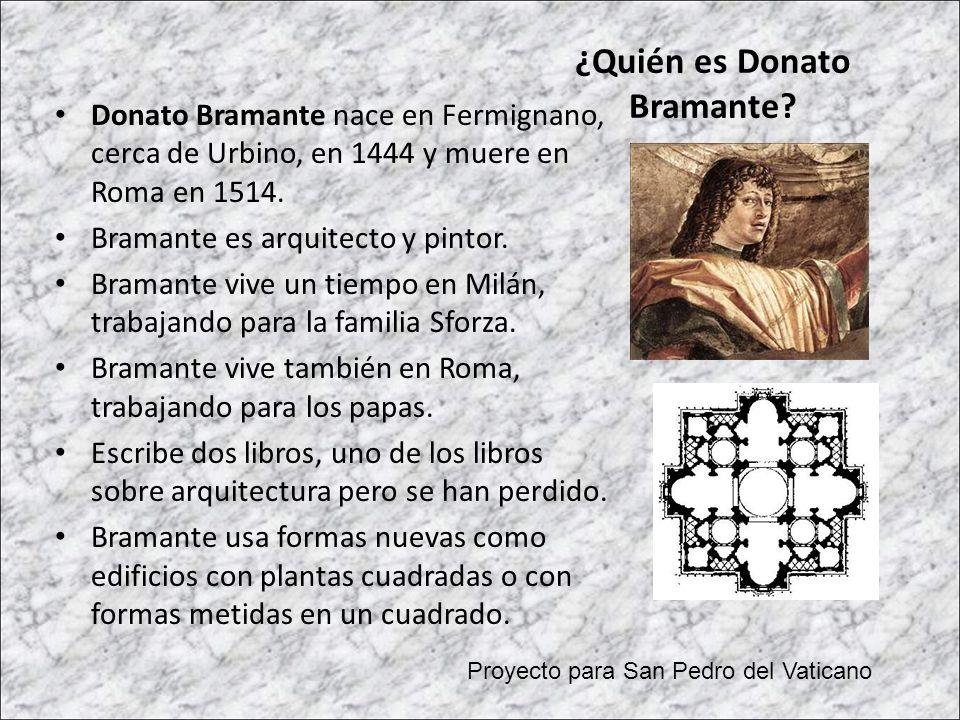 ¿Quién es Donato Bramante