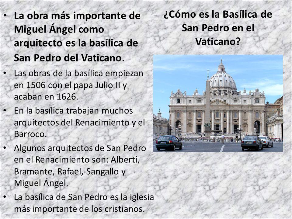 ¿Cómo es la Basílica de San Pedro en el Vaticano