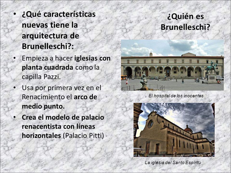¿Quién es Brunelleschi