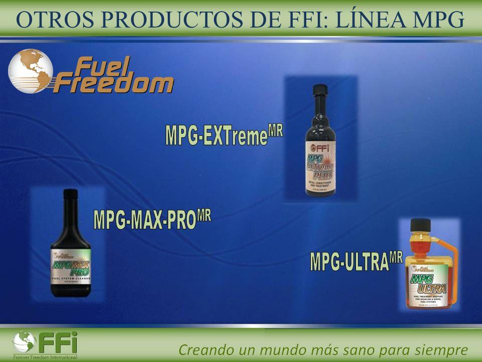 OTROS PRODUCTOS DE FFI: LÍNEA MPG