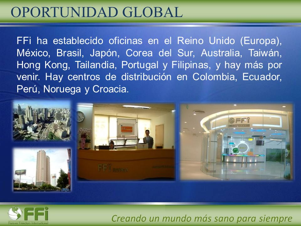 OPORTUNIDAD GLOBAL