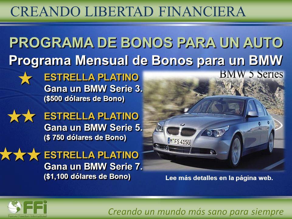 CREANDO LIBERTAD FINANCIERA