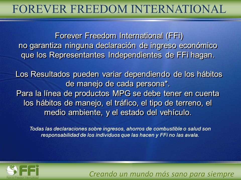 Forever Freedom International (FFi)