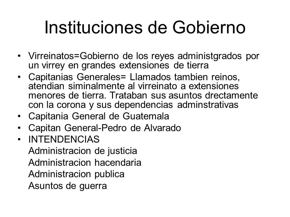 Instituciones de Gobierno