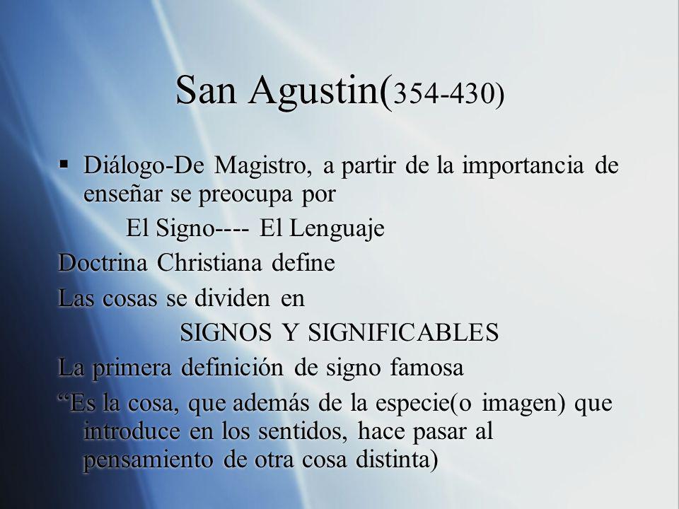 SIGNOS Y SIGNIFICABLES