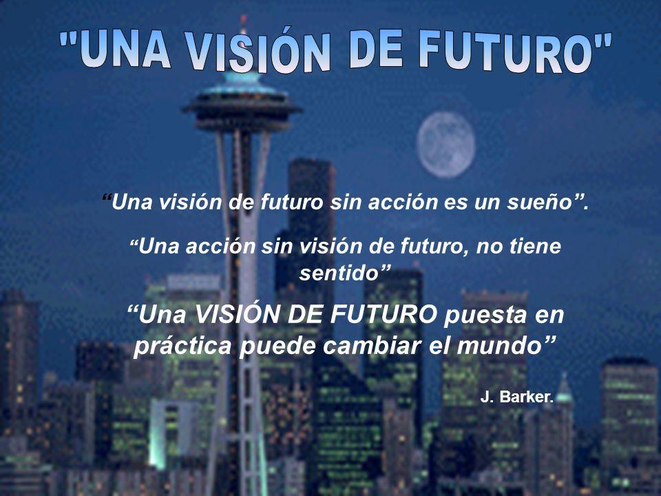 Una VISIÓN DE FUTURO puesta en práctica puede cambiar el mundo