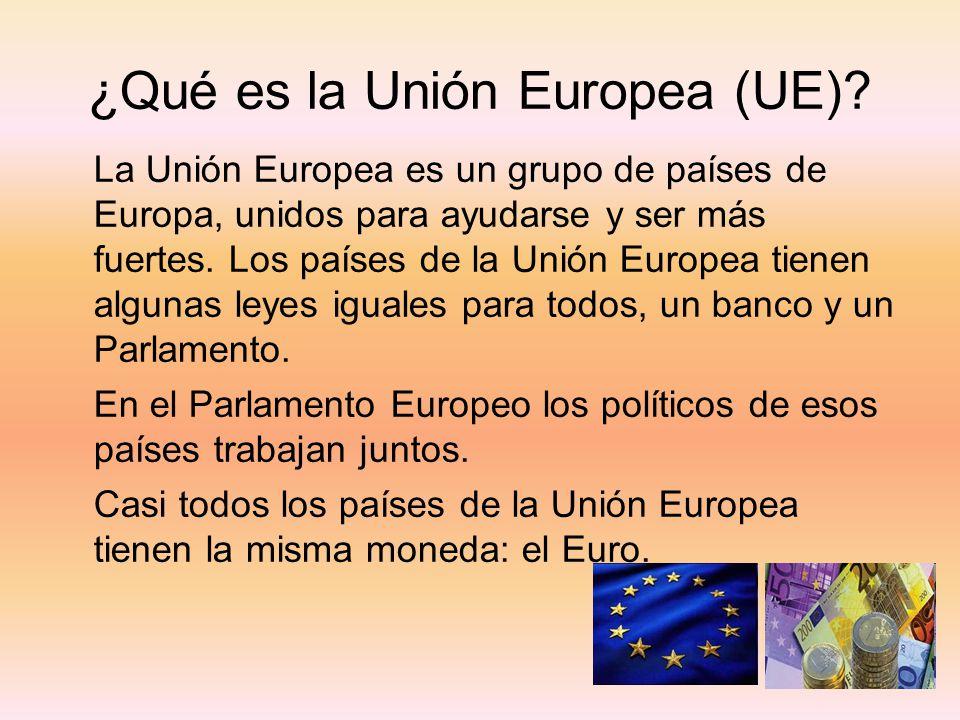 ¿Qué es la Unión Europea (UE)