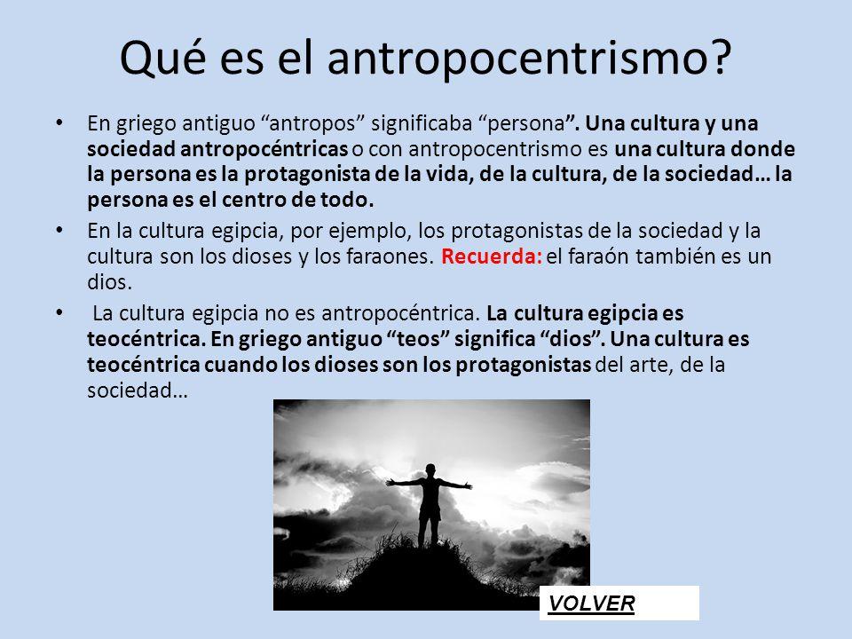 Qué es el antropocentrismo
