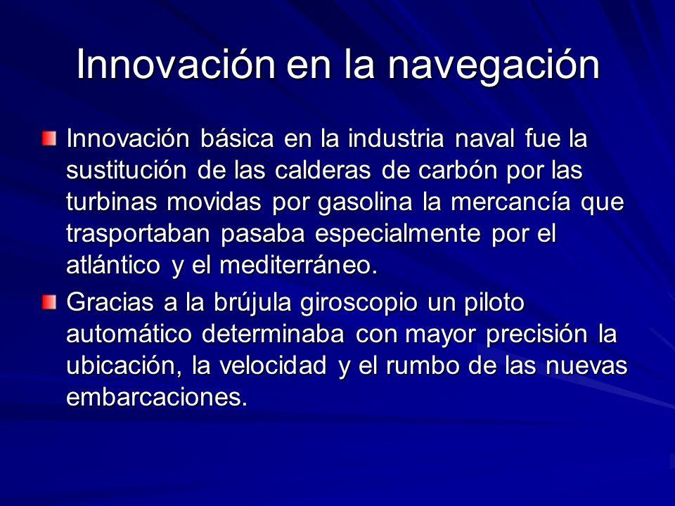 Innovación en la navegación