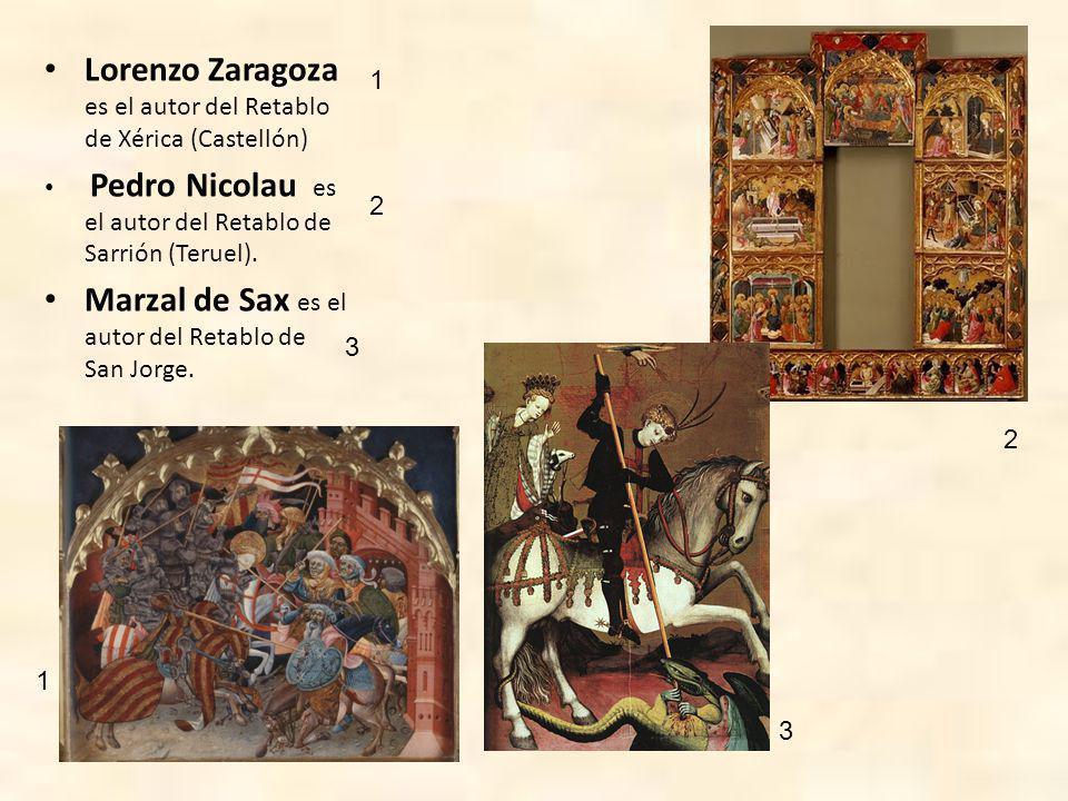 Lorenzo Zaragoza es el autor del Retablo de Xérica (Castellón)
