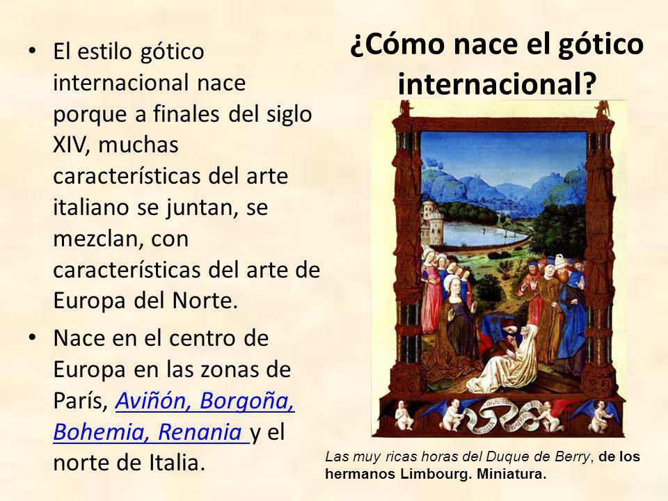 ¿Cómo nace el gótico internacional