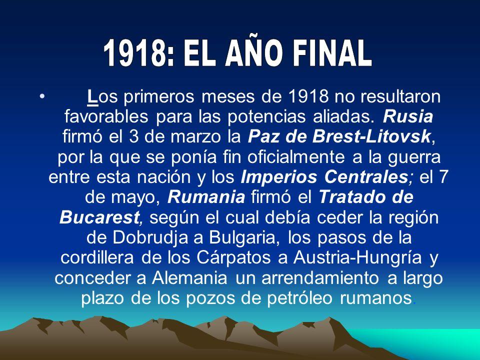 1918: EL AÑO FINAL