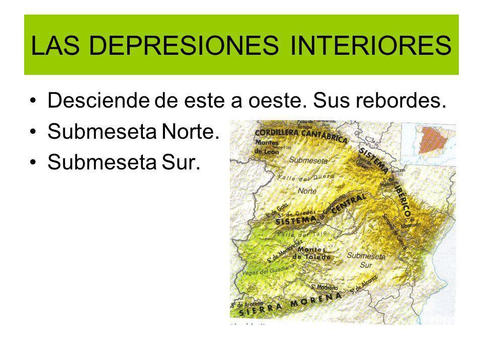 LAS DEPRESIONES INTERIORES
