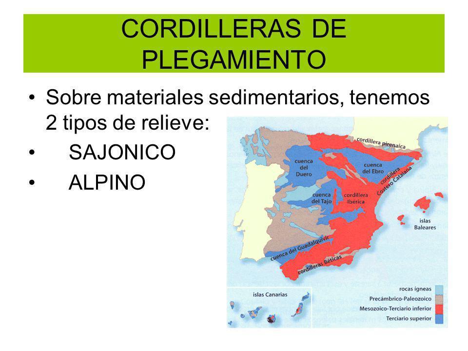CORDILLERAS DE PLEGAMIENTO